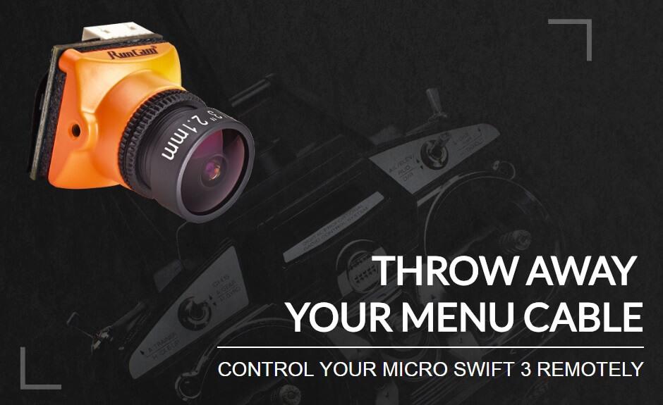 Steruj swoją kamerą Micro 3 z nadajnika RC