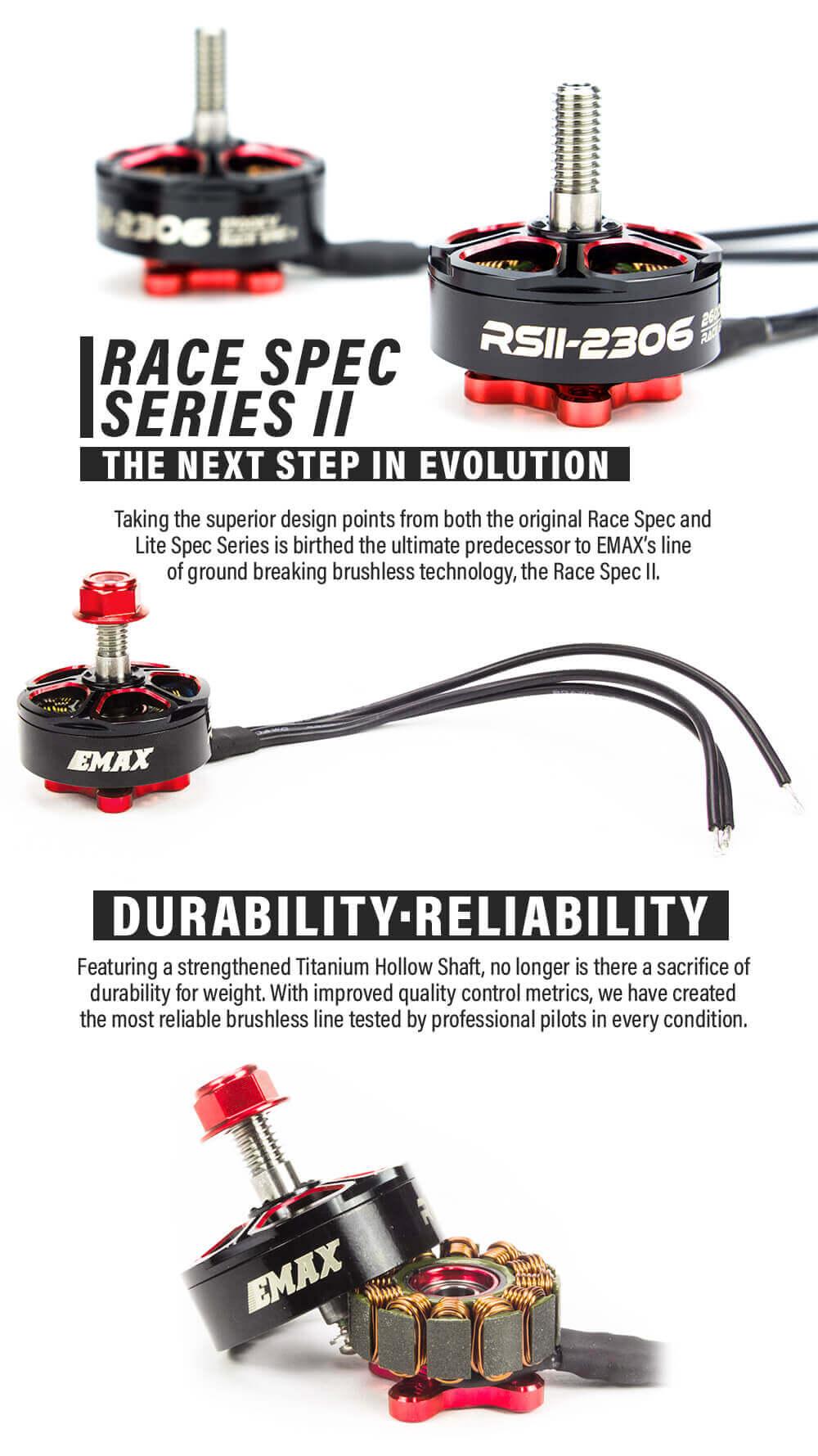 Silnik drugiej serii RSII RS2306 to niesamowite osiągi