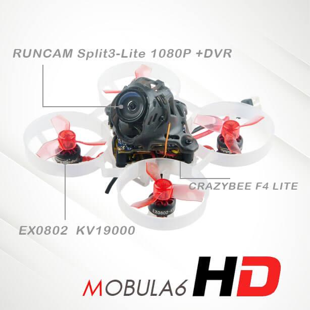 Dron wyścigowy FPV Mobula 6 HD