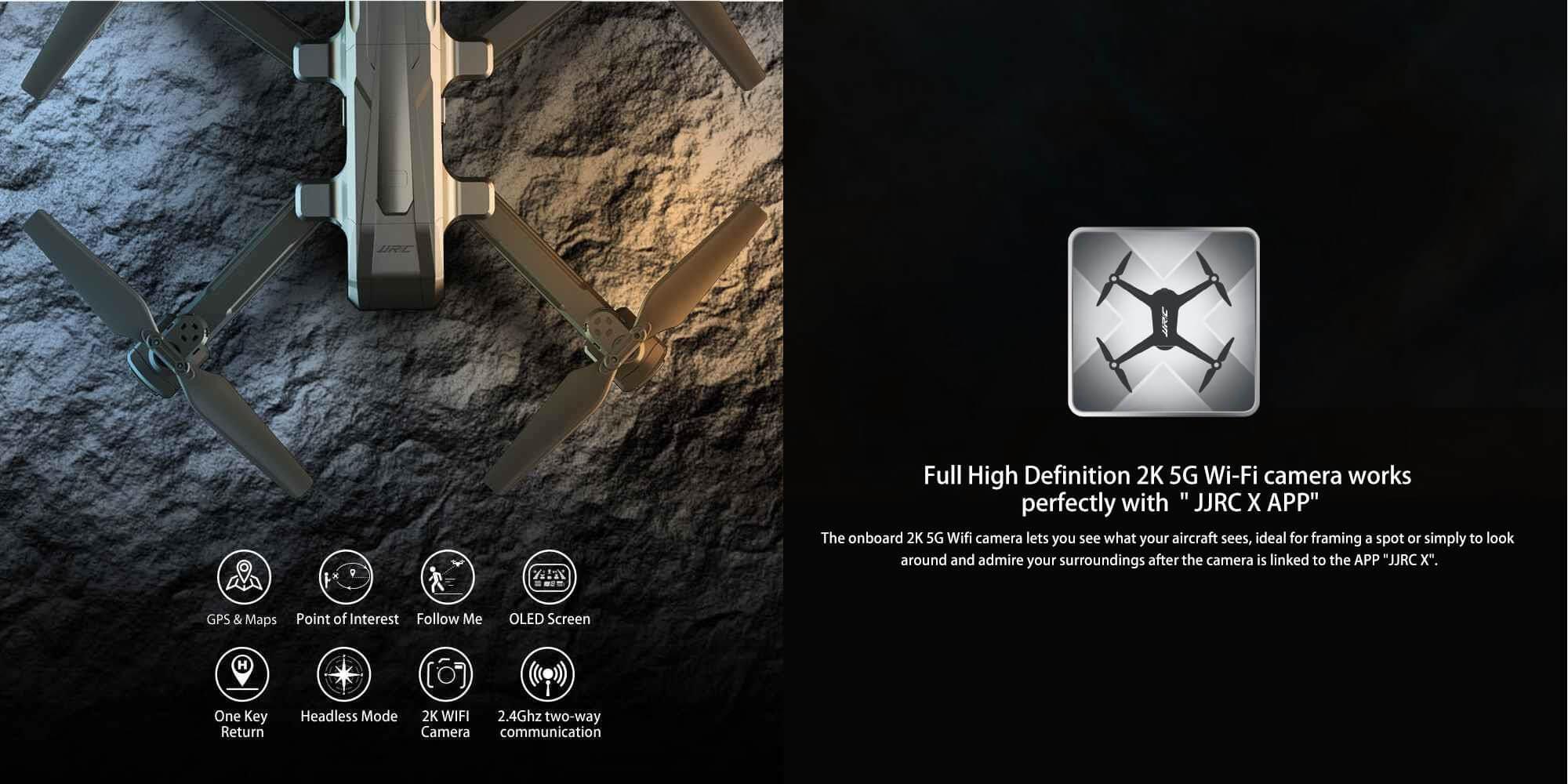 Dron z kamerą JJRC H73 przedstawienie funkcji oraz dedykowanej aplikacji