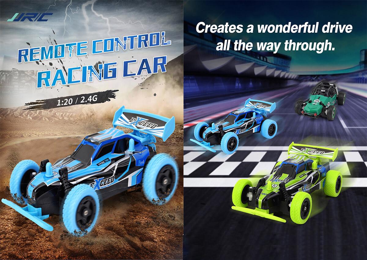 Zdalnie sterowany samochód wyścigowy JJRC Q72 najważniejsze funkcje