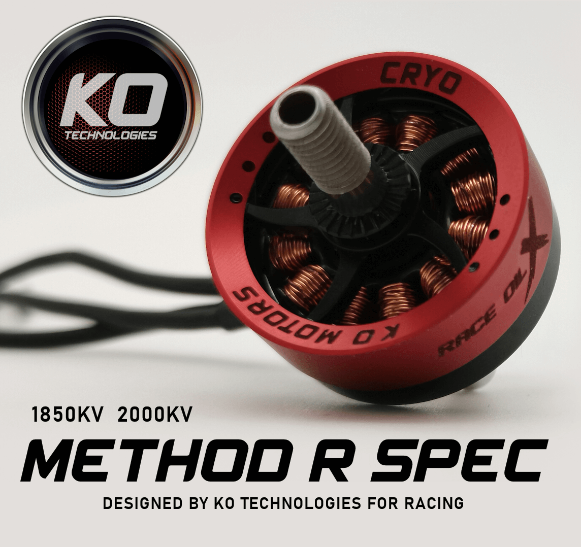 KO Method Race motor for FPV racing drone