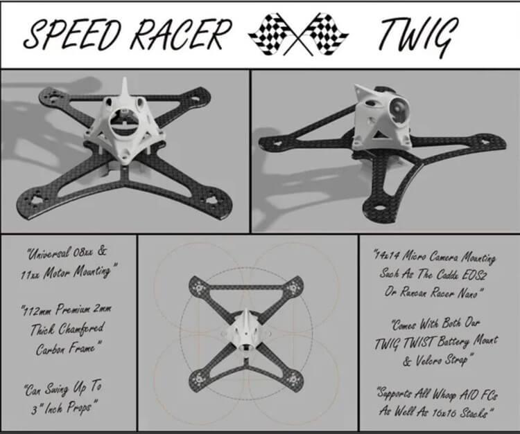 Specyfikacje ramy Speed Racer TWIG