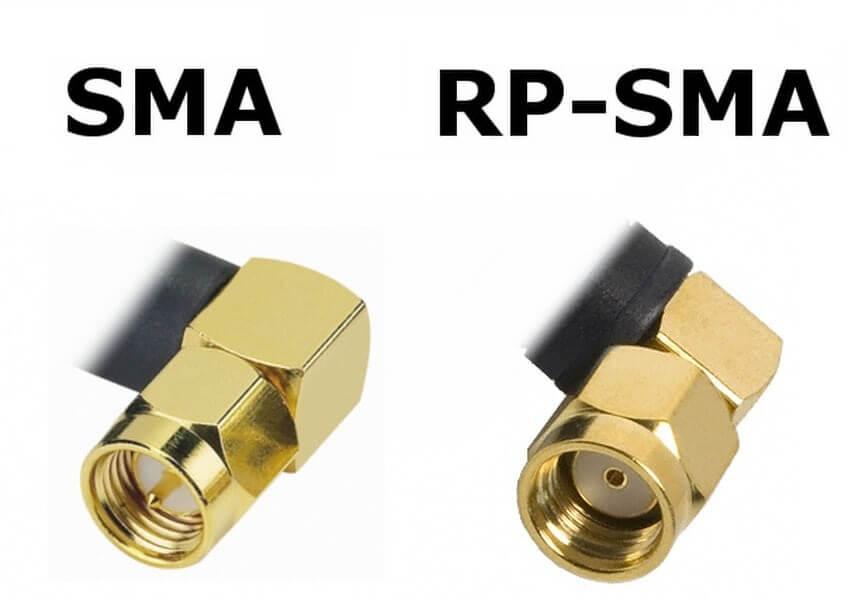 Antena do drona FPV porównanie złącz