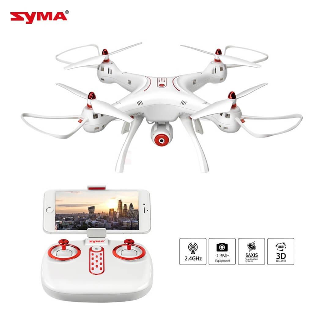 Drony Syma X8SW z kamerą FPV