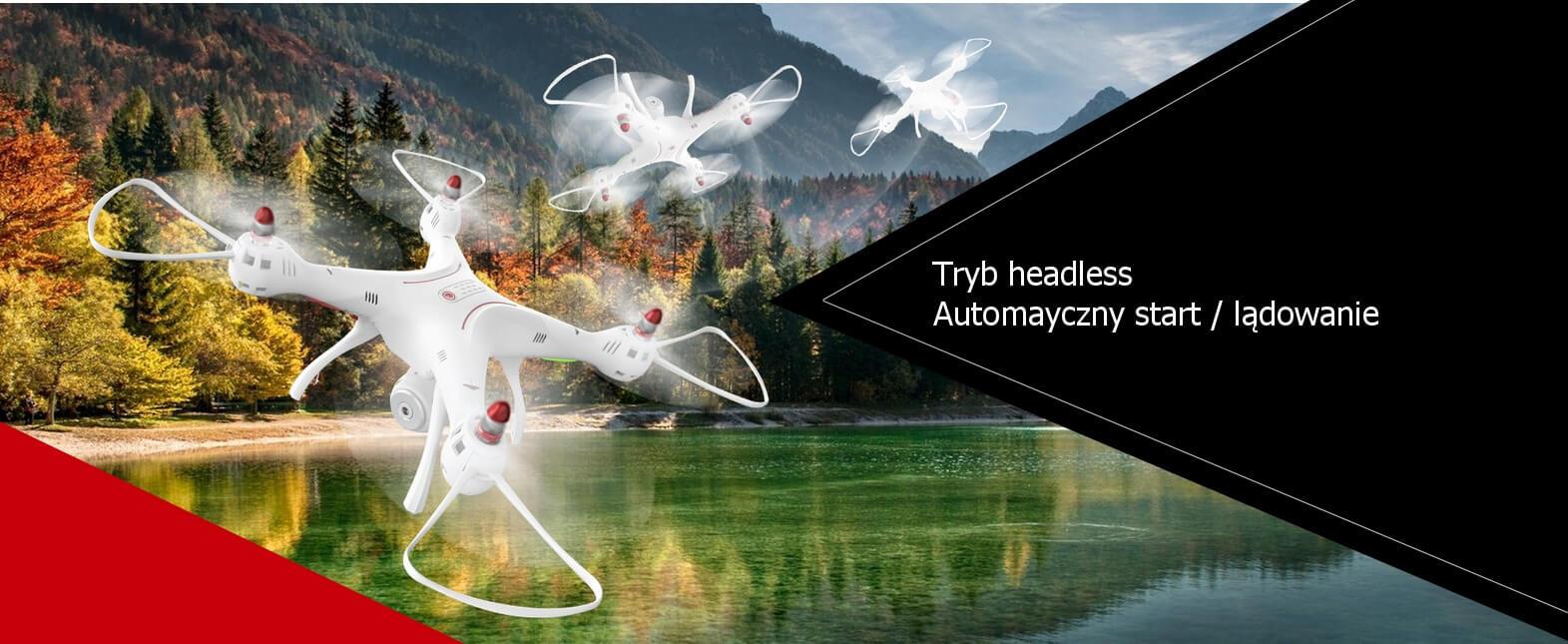 Inteligentny lot - funkcja Headless