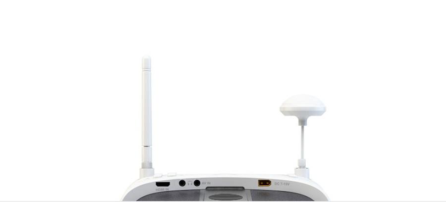 Gogle SkyRC dwie anteny odbiorcze