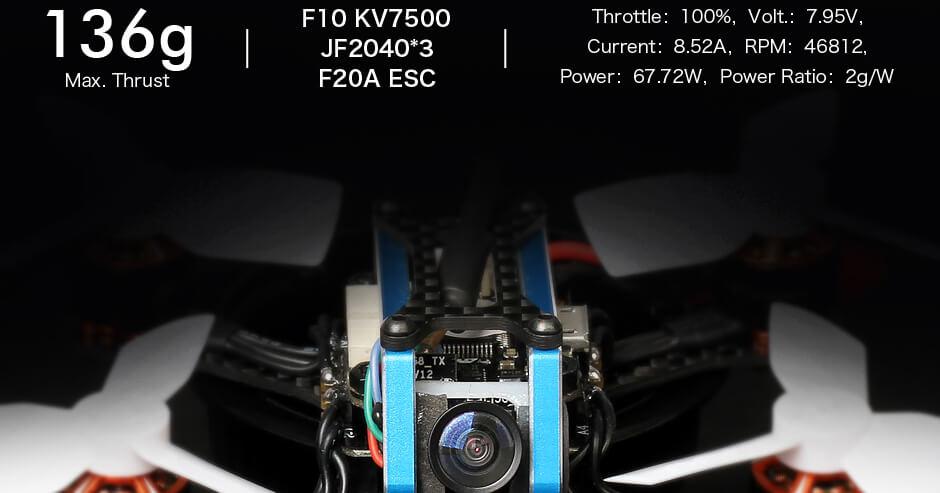 CIąg maskymalny F10 - 136g