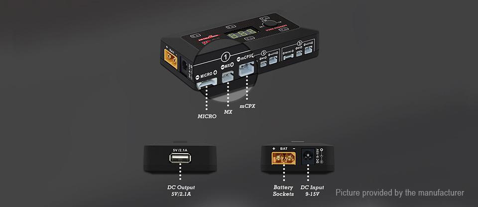 UltraPower UP-S6 Opis złącz