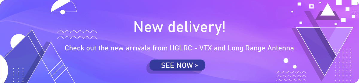 New delivery from HGRLC!