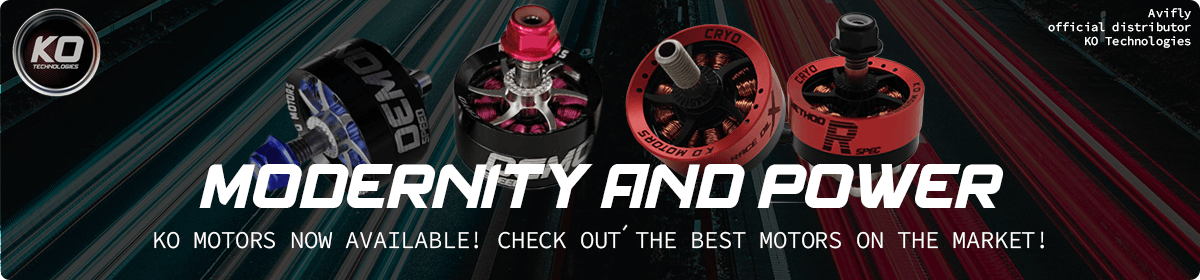 KO Technologies - Modernity and Power! See the best motors currently available on the market.